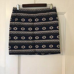 J.Crew Fair Isle Mini Skirt Size 6